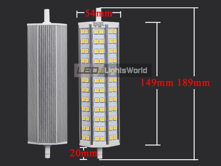 R7s led 5050 smd lampe dimmbar leuchtmittel f stehlampe for Led stehlampe
