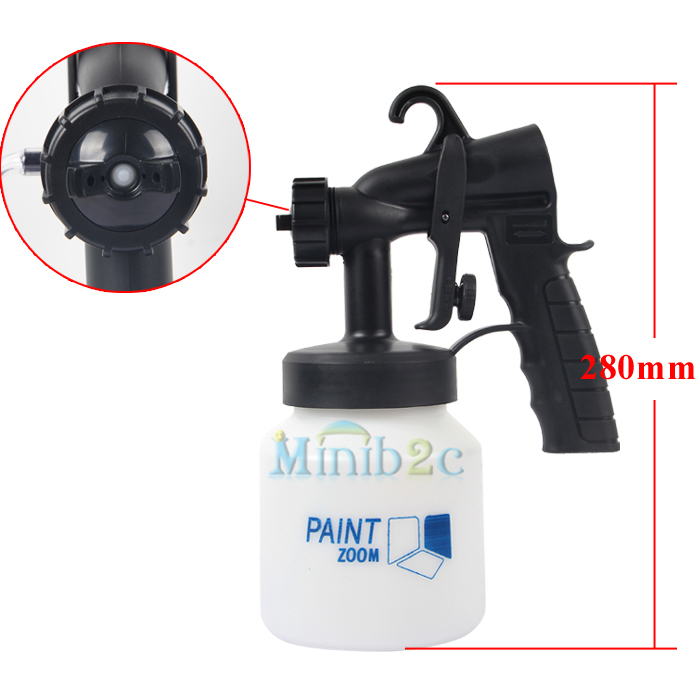 new paint sprayer zoom spray system electric gun painting fence bricks. Black Bedroom Furniture Sets. Home Design Ideas