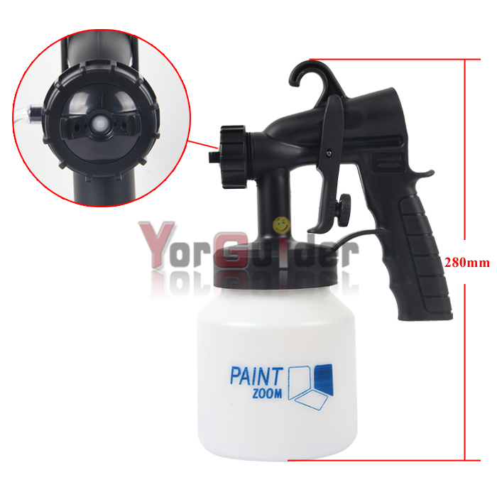 electric paint sprayer gun tool kit zoom painting spray system fence. Black Bedroom Furniture Sets. Home Design Ideas